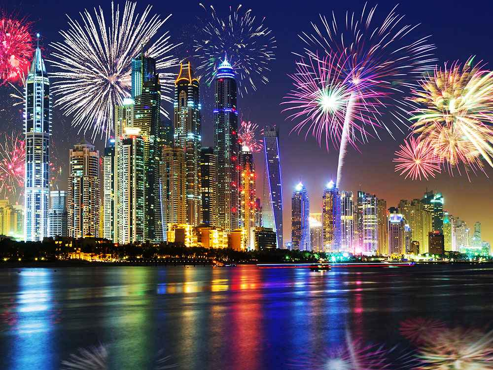 Dont miss these places to spot the stunning fireworks display in dubai for 46th uae national day