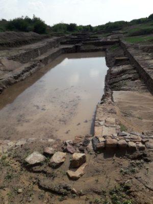 A Walk Through Dholavira : Rain Water Harvesting