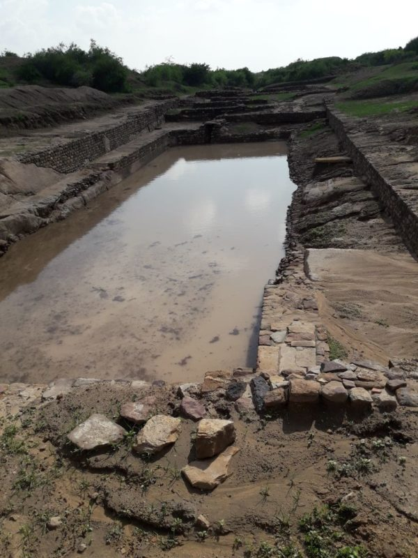 A Walk Through Dholavira : Rain Water Harvesting